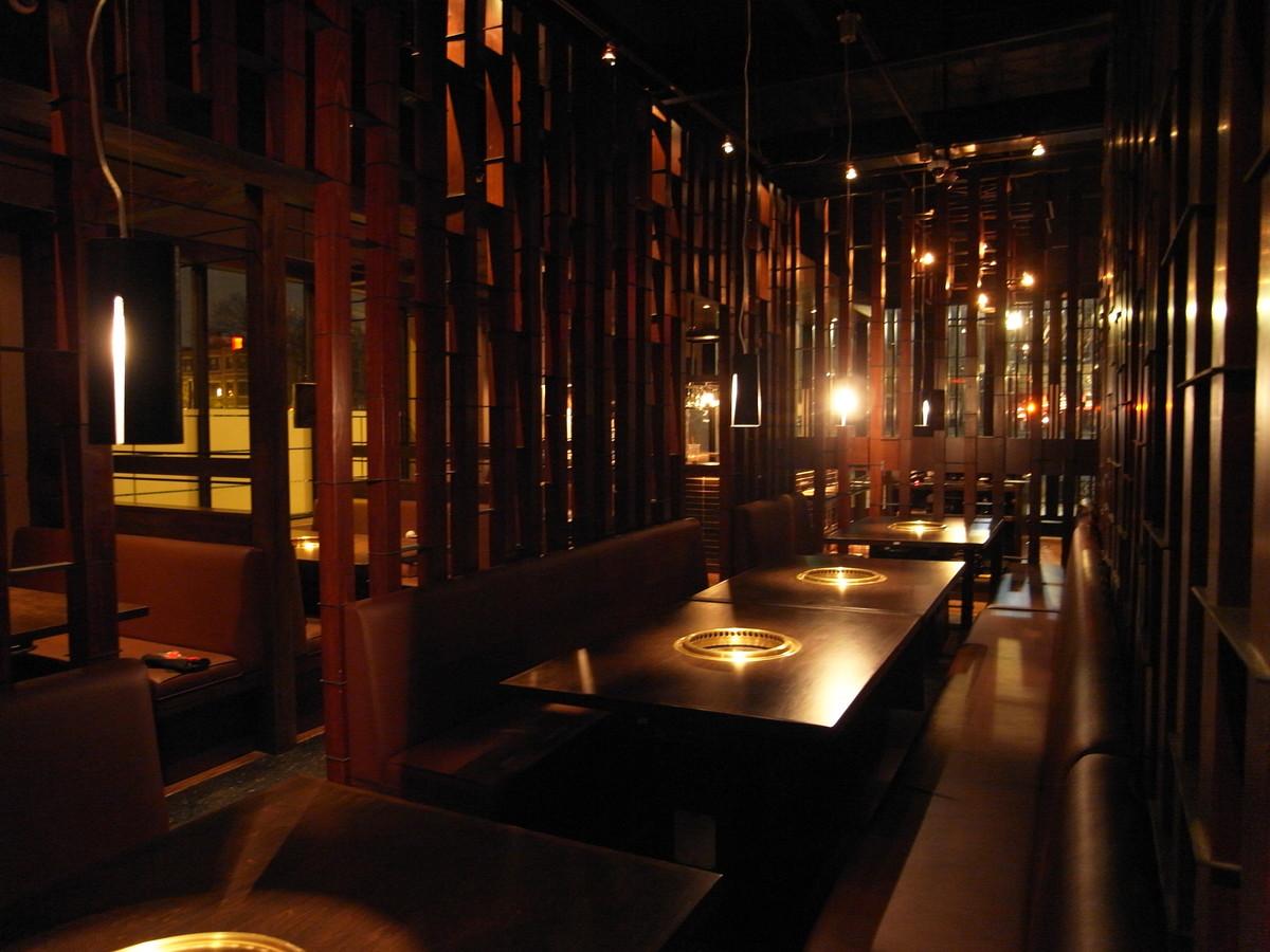 Gyu-Kaku Brookline Interior