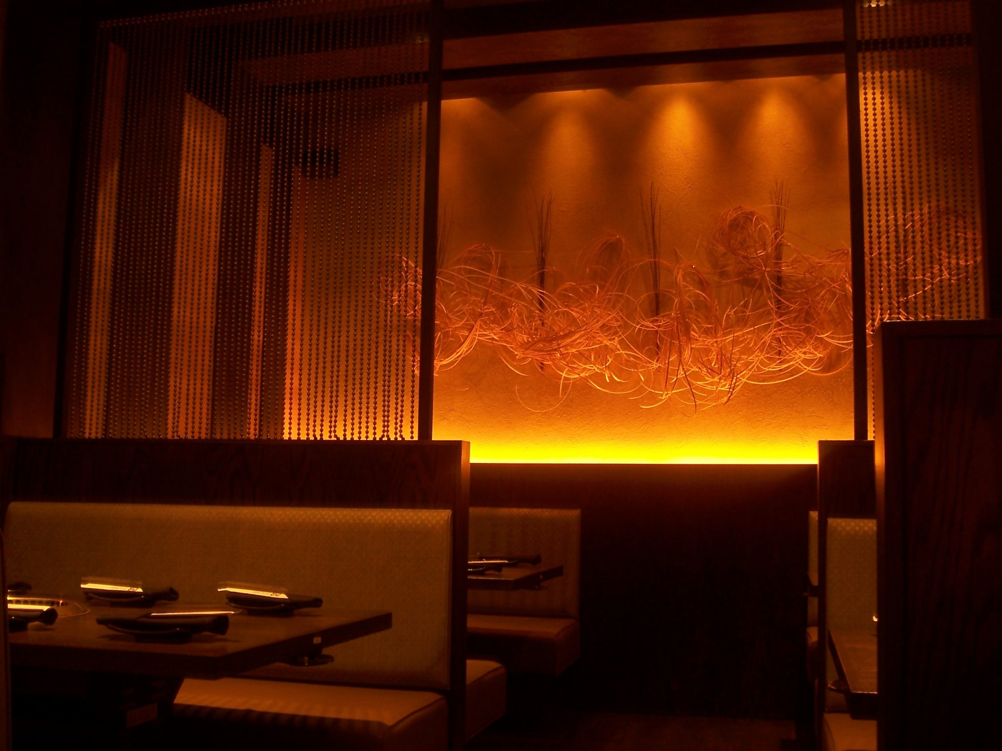 Gyu-Kaku Midtown Interior