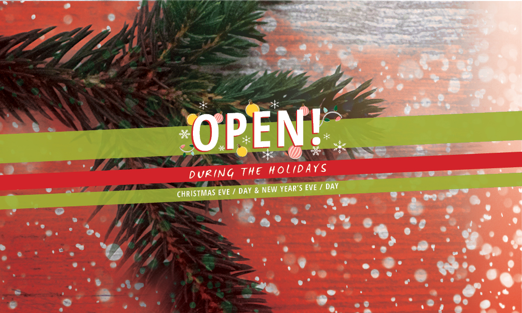 Open During Holidays