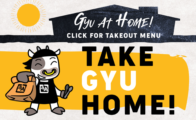 Gyu at Home Menu