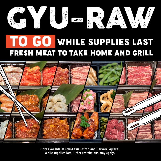 Gyu-Raw: Fresh Meat to Grill at Home