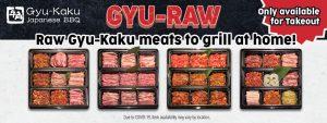 Gyu-Raw Gyu-Kaku Meats To Grill At Home